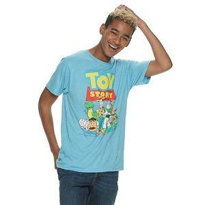 🍍GUC Disney Pixar Toy Story Shirt Men size L aqua